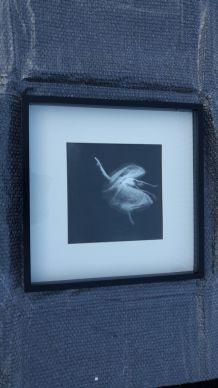 Cadre photo noir&blanc danseuse classique