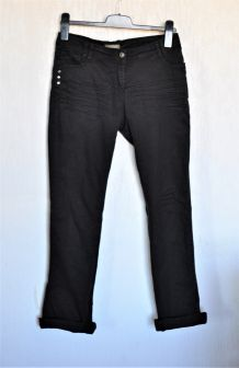 Jean noir coupe droite In Extenso - Taille 38