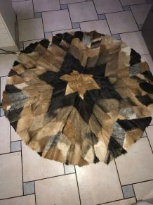 tapis boucherouite de couloir multicolore r versible luckyfind. Black Bedroom Furniture Sets. Home Design Ideas