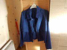 veste courte bleue taille 38