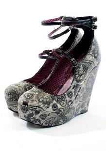 Iron fist chaussures rock gothique