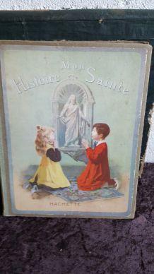 Ancien livre mon histoire sainte