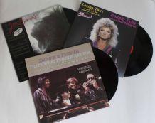 lot vinyles Dionne Warwick, Jean Beauvoir, Bonnie Tyler