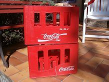 2 caisses coca cola