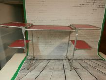 Ancienne table de camping