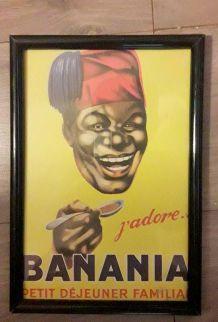 affiche banania