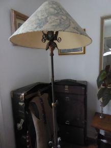 lampadaire fer forgé