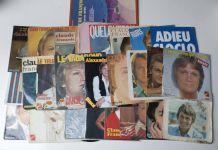 vinyles 45 tours Claude François