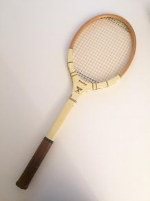 Raquette de tennis vintage de collection Dunlop