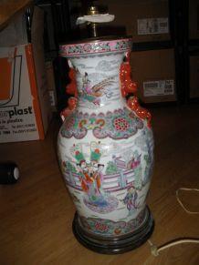 Abat jour lampe chinoise