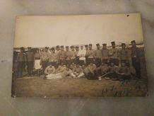 CARTE POSTALE D'UN REGIMENT DE 1909