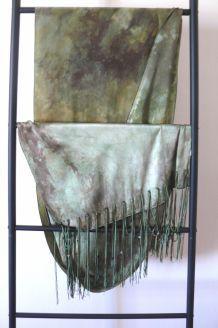 longue étole Dior en pure soie