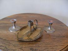 mini-chandelier cuivre-laiton