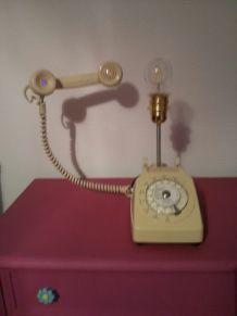 Lampe Telephone PTT de 1980