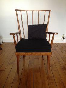 Paire de fauteuils Baumann
