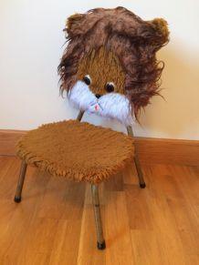 Chaise moumoute Enfant Vintage