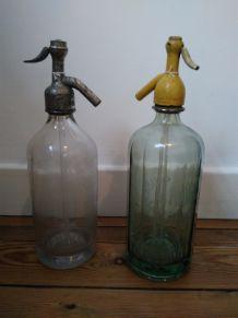 Bouteille d eau de seltz