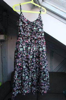 Robe chic fleurie