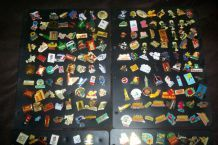 GROS LOT COLLECTION 320 PIN'S DIFFERENTS
