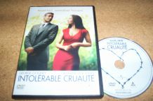 DVD INTOLERABLE CRUAUTE avec george clooney