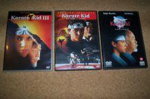 LOT de 3 DVD karaté kid