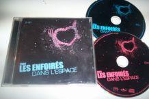 DOUBLE CD LES ENFOIRES DANS L'ESPACE