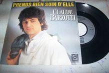 disque 45 tours 2 titres claude barzotti