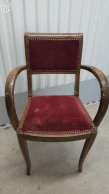 Ancien fauteuil bridge annee 50