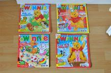 Lot de 4 magazines Winnie