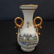 petit vase en porcelaine Château de Chambord