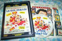 DVD dubout et la rue sans loi avec louis de Funès
