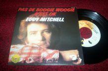 disque 45 tours eddy mitchell pas de boogie woogie