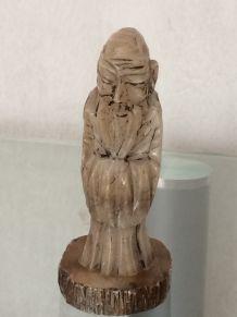 Statuette en albatre