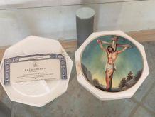 Assiette crucifixion