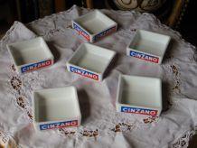 Coupelle aperitive publicitaire marque CINZANO