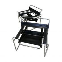 Paire de fauteuils Wassily de Marcel Breuer