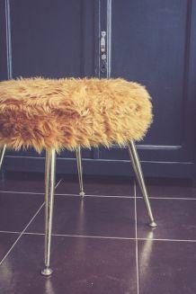 tabouret vintage r nov wax luckyfind. Black Bedroom Furniture Sets. Home Design Ideas