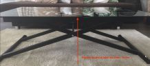 Table basse multi position
