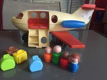 avion fisher price + figurines