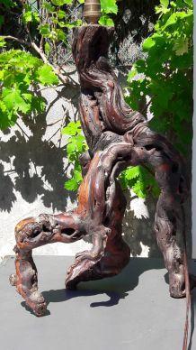 Pieds de lampe vigne