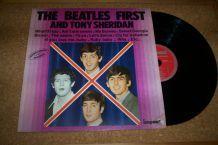 disque 33 tours 12 titres the beatles et tony sheridan
