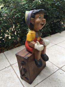 Pinocchio Vintage en bois