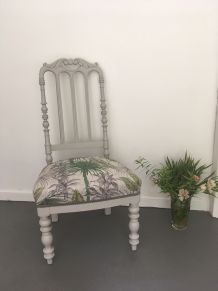 "Chaise basse ""Jungle"""