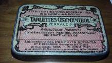 Ancienne boîte de médicaments - PARIS