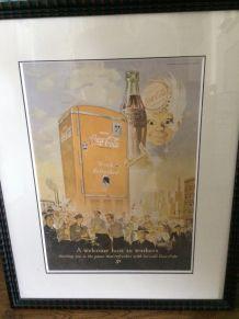 Affiche Coca Cola vintage