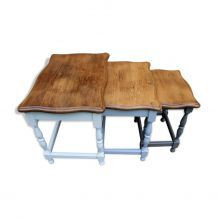 Tables gigognes chêne massif