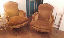 Canapé et fauteuils style louis XV