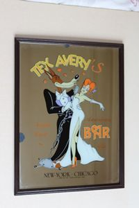 Miroir Tex Avery