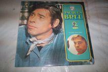 double disque 33 tours 24 titres jacques Brel