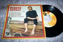 DISQUE 45 TOURS ANNEES 60 HUGUES AUFRAY